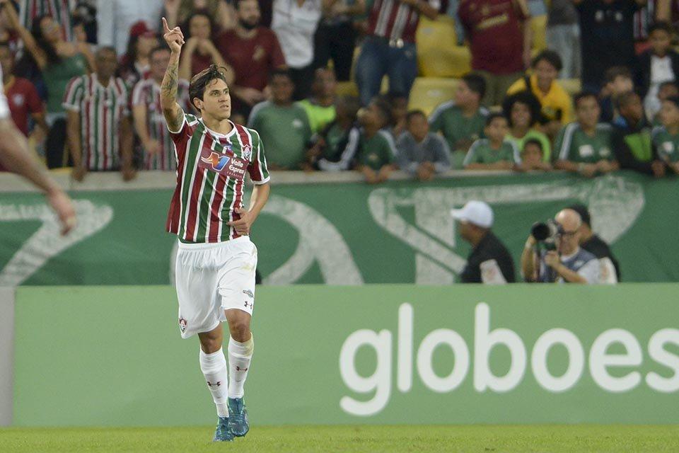 FluXBahia comemoração do gol