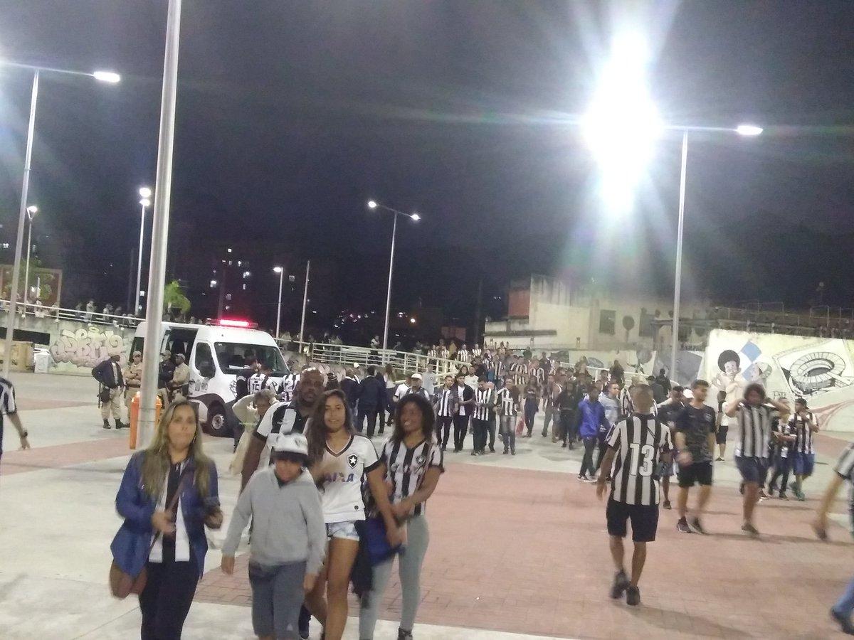 Entorno Nilton Santos - Botafogo 2 X 0 Nacional