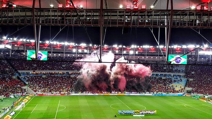 Festa da torcida - Flamengo X Grêmio - Copa do Brasil 2018