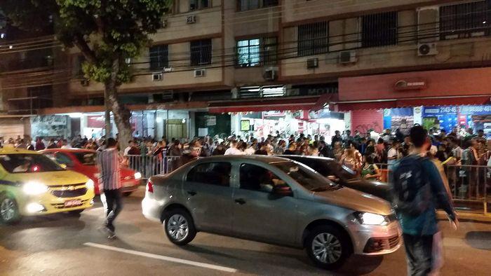 Arredores Maracanã Fluminense X Internacional Brasileirão 2018