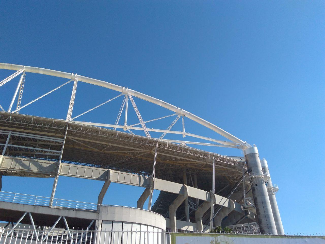 Estádio Nilton Santos - visão externa