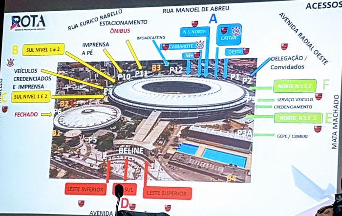 Mapa do trânsito Maracanã