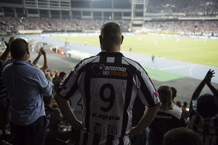 Torcedor do Botafogo