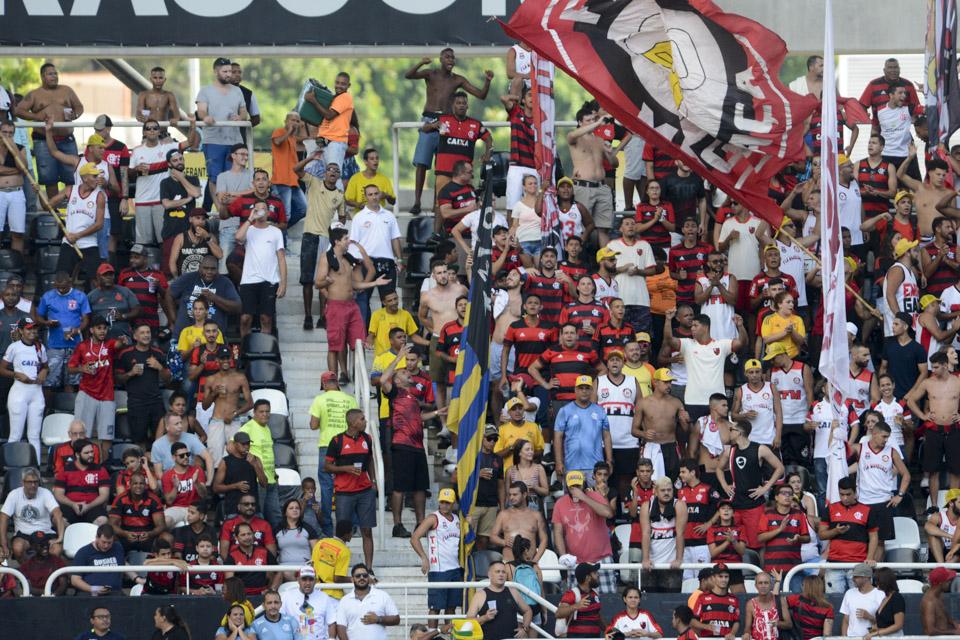 Flamengo x Fortaleza - Torcida Flamengo Nilton Santos