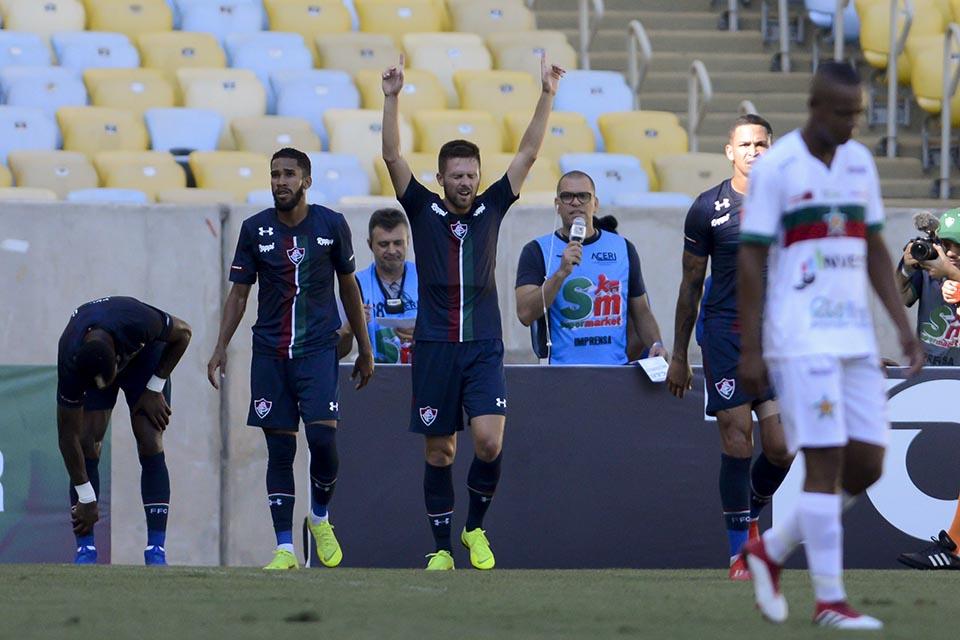 Carioca 2019  Fluminense 3 x 1 Portuguesa - Fim de Jogo 7c9a9e68bb179