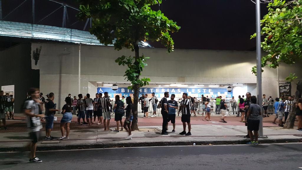 Bilheteria Nilton Santos Botafogo x Portuguesa