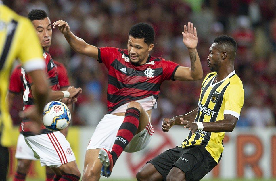 Flamengo 0 x 0 Volta Redonda, no Maracanã