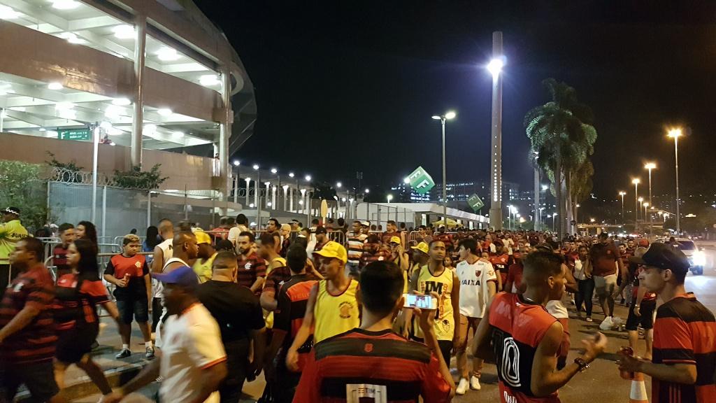 Torcida Flamengo x Corinthians