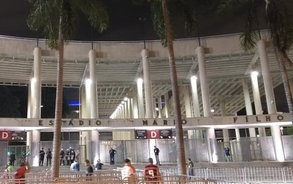 Flamengo no Maracanã