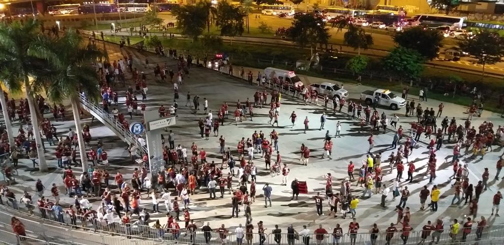 Torcida Flamengo Libertadores