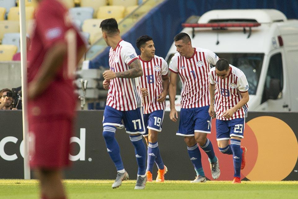 Paraguai x Catar