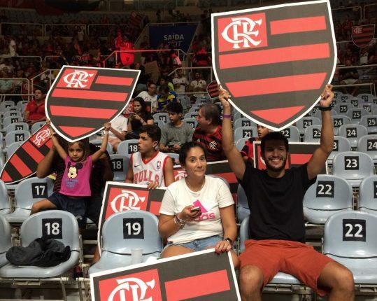 Finais do NBB Torcida do Flamengo