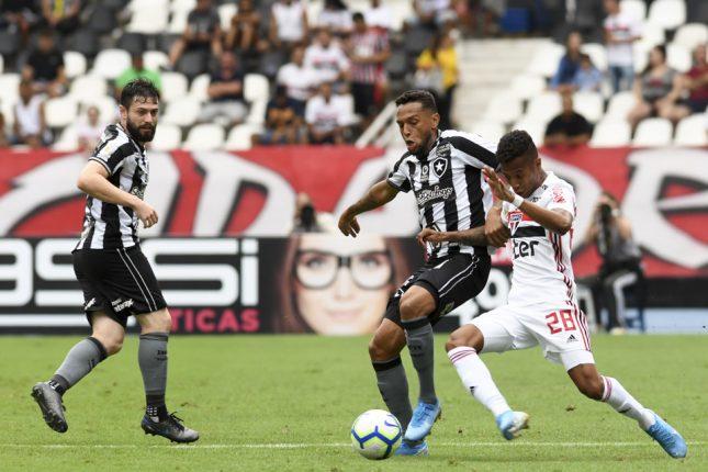 Botafogo 1 x 2 São Paulo