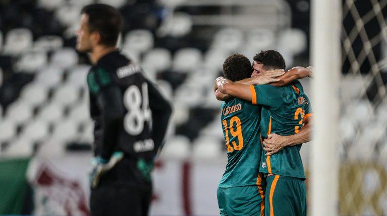 Fluminense 4 x 0 Coritiba